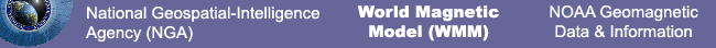 World Magnetic Model (WMM) Banner