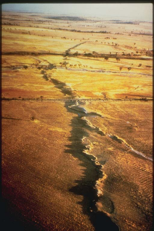 Surface Rupture, Meckering, Australia