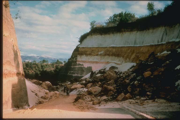 Landslide near Guatemala City, Guatemala