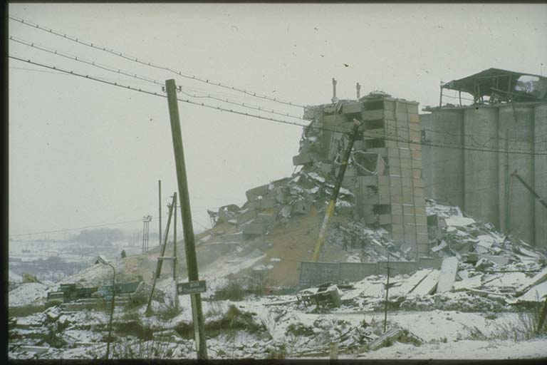 Damage to Granary Spitak, Armenia