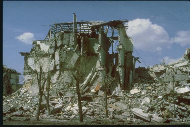Collapse of Floors, Leninakan, Armenia