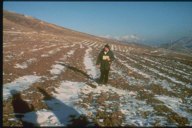 Right-lateral Strike Slip Fault near Spitak, Armenia