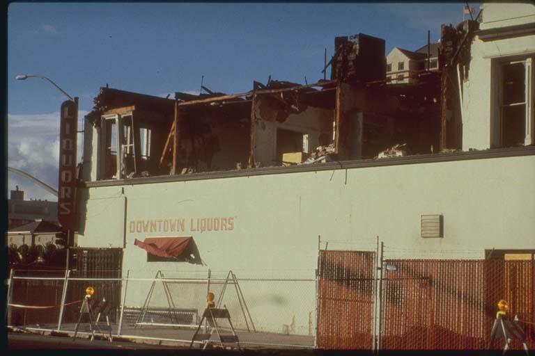 Damage to Masonry Building, San Jose, California