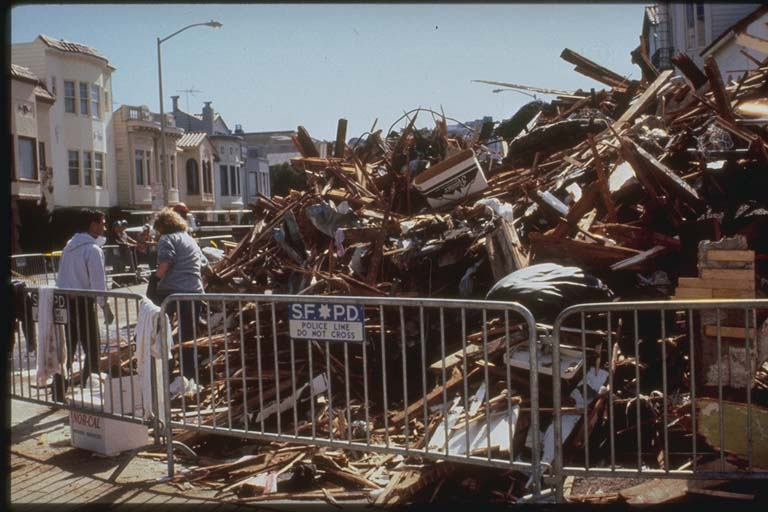 Collapsed Building, San Francisco