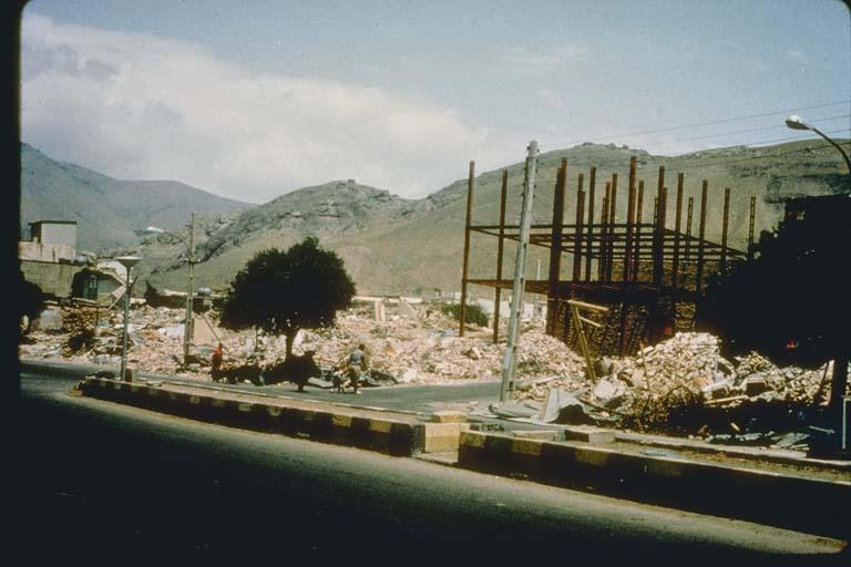 Destruction of Unreinforced Masonry Buildings, Iran