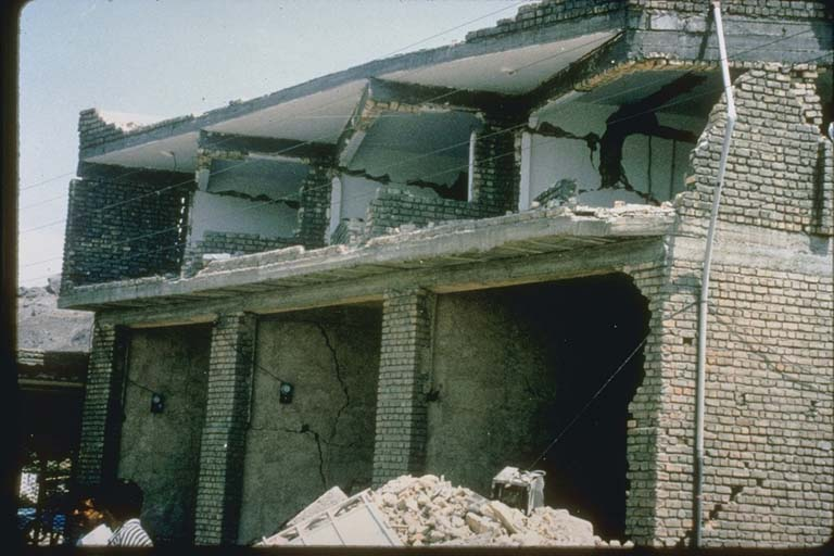 Structural Damage to Walls, Iran