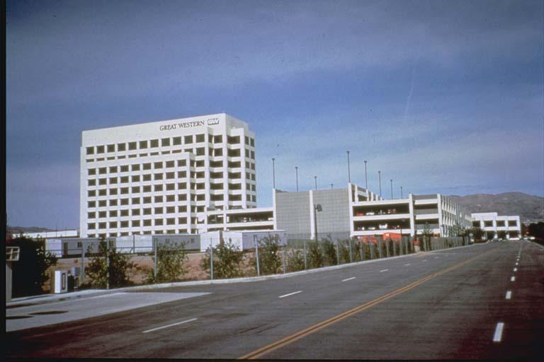 Undamaged Great Western Bank Building