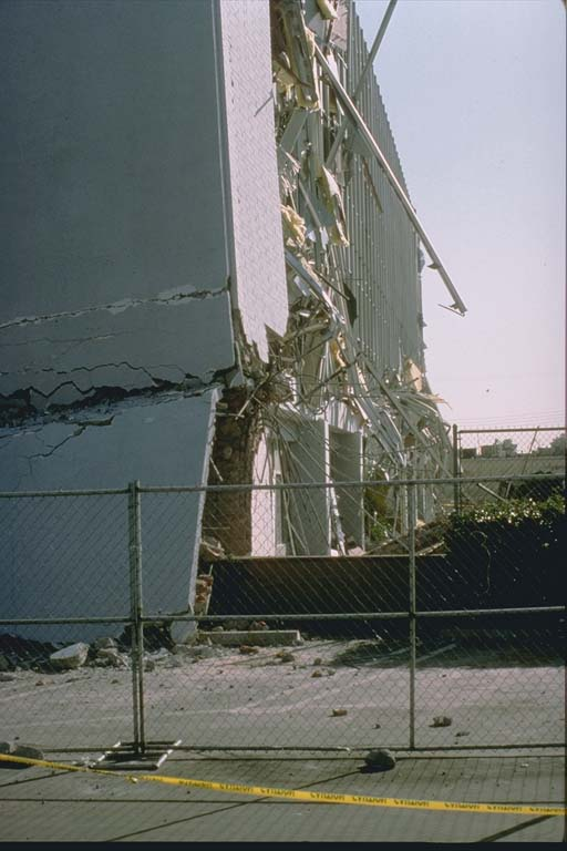Second View of damage to Kaiser Clinic
