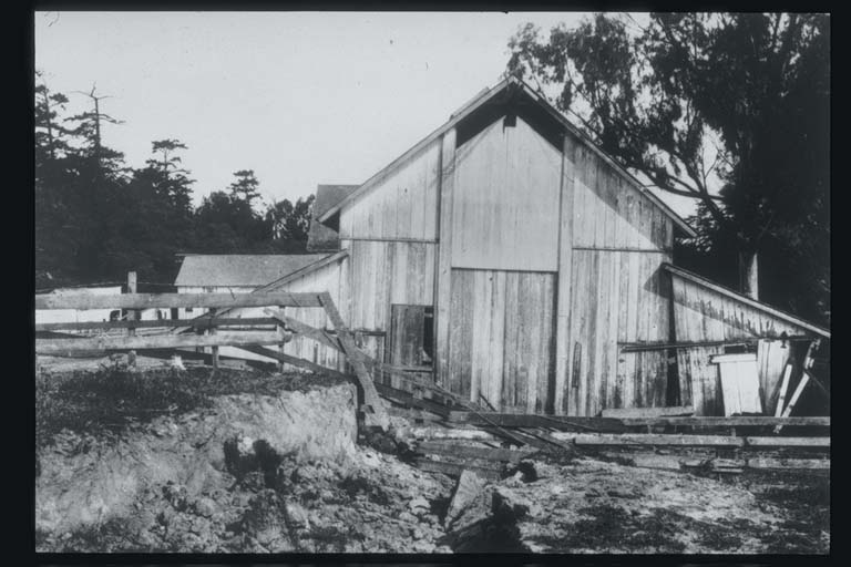 Skinner's Barn Offset by Fault Trace