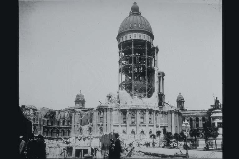 Severely Damaged San Francisco City Hall