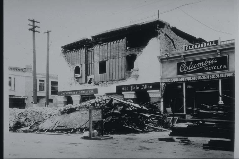 Damage to Store in Palo Alto