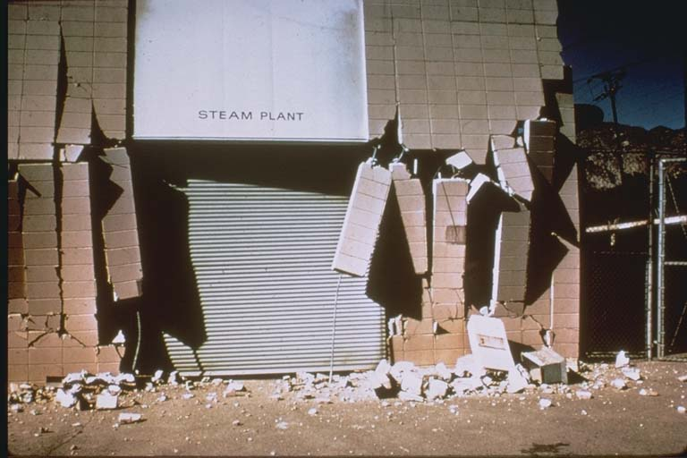 Damaged Juvenile Hall Facilities (1971)
