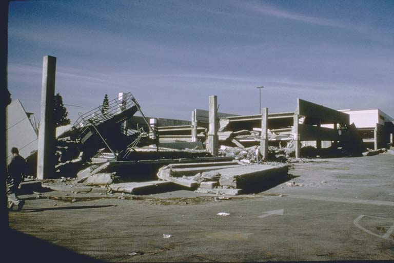 Parking structure at the Northridge Fashion Center (1994)