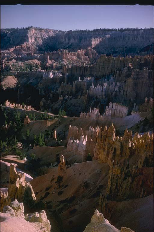 Cliff erosion, Bryce Canyon, Utah