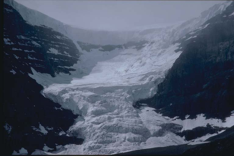 Glacier in Ice Fields Parkway, Canada