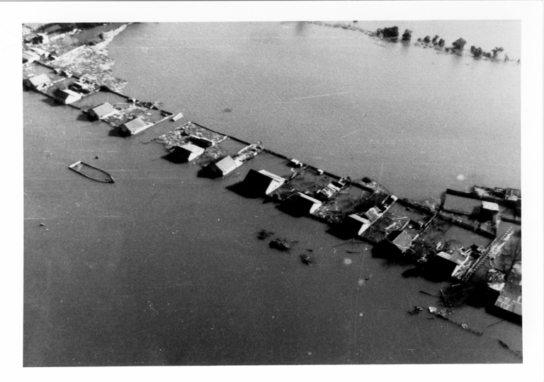 Submerged land in the Valdivia district