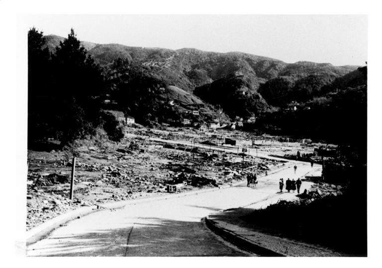 Corral Bay after the tsunami