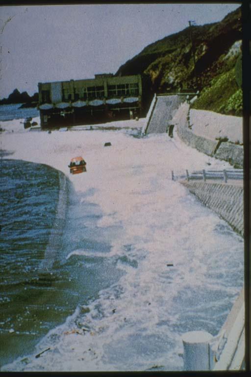 Tsunami Engulfs Japan Coastline in 1983