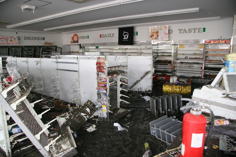 Ishinomaki Store Damage