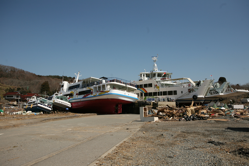 Uranohama Port, Oshima
