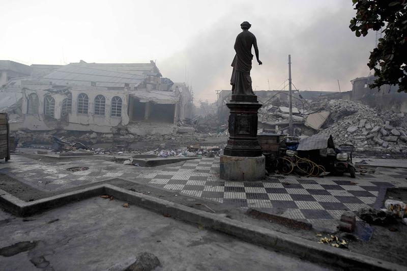Haiti Capital Devastated by Quake