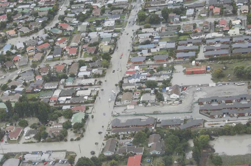 Streets Under Liquefaction