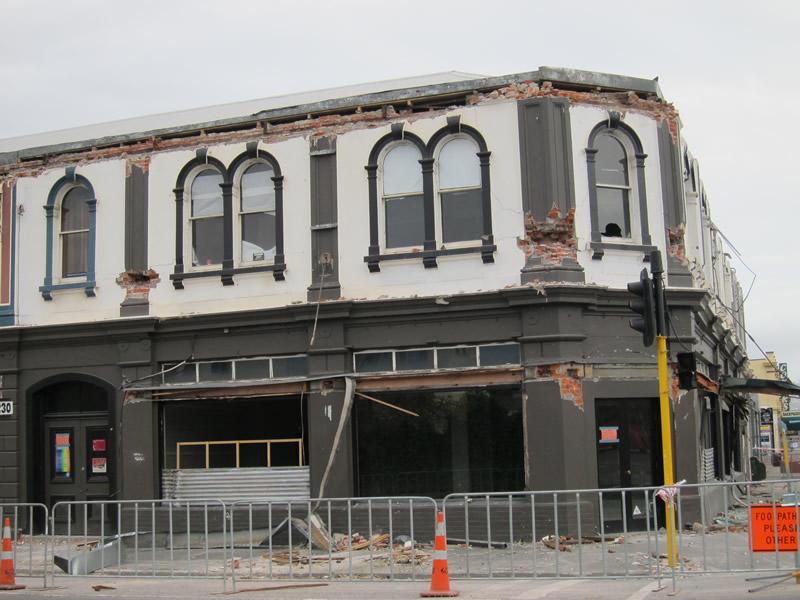 Earthquake Damage in Christchurch