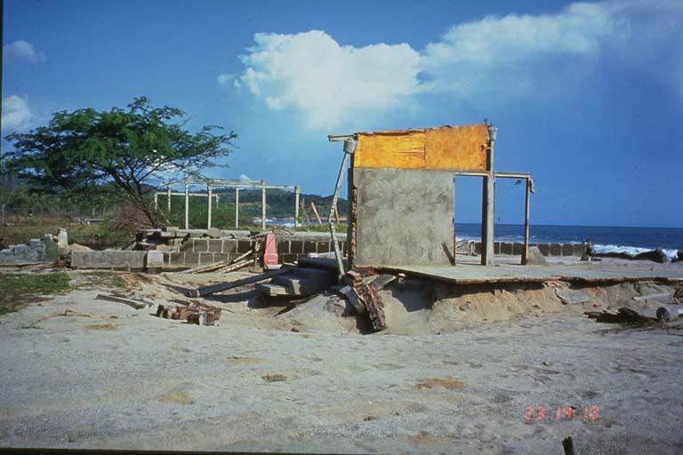 Structures at El Popoyo, Nicaragua