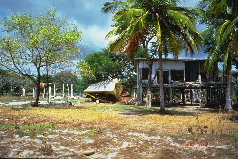Structural damage, El Popoyo, Nicaragua