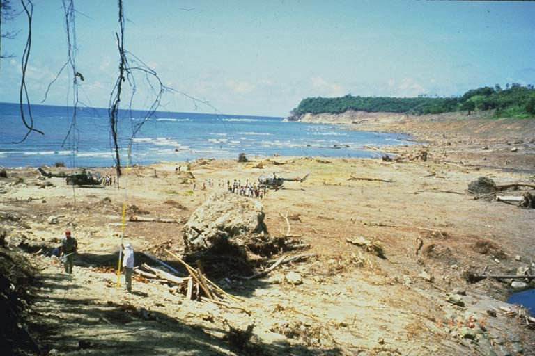 Destruction of Riangkroko, Indonesia