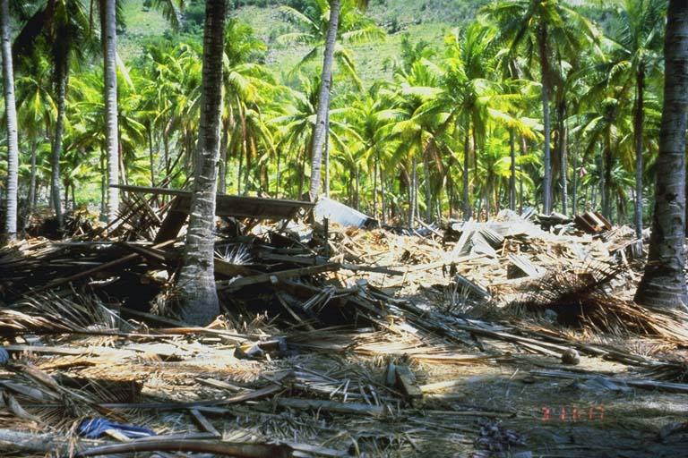 Debris dump Kampung Baru, Indonesia