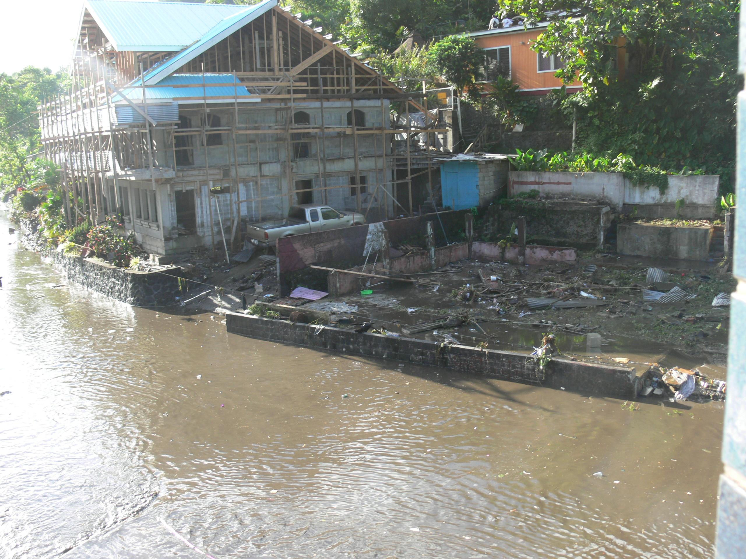 Pago Pago Tsunami inundation