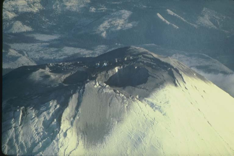 Second Crater is Formed at the Summit of Mount Saint Helens, WA