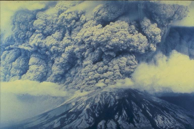 The Ash Cloud Formed by the May 18th Eruption at Mount Saint Helens, WA