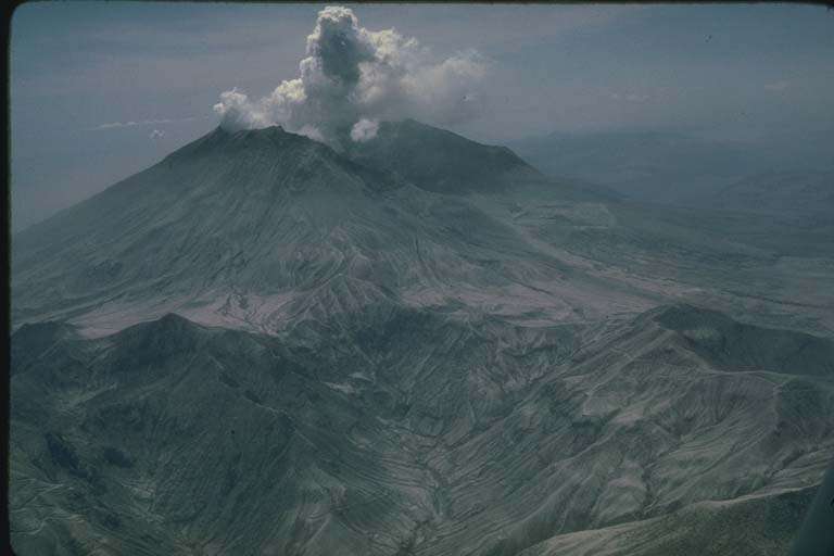 Mount Saint Helens, WA and Devastation Produced by May 18, 1980 Eruption