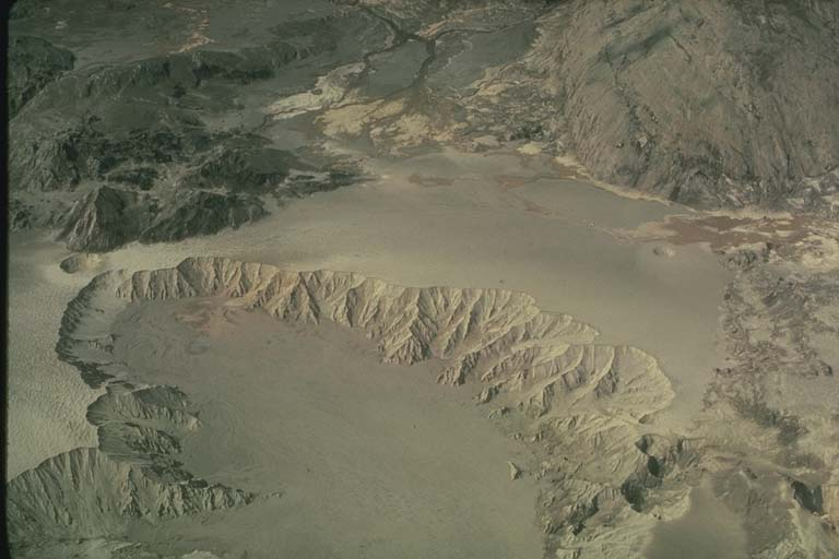 """Crater"" Formed from Contact of Hot Volcanic Debris with Water, Mount Saint Helens, Washington"