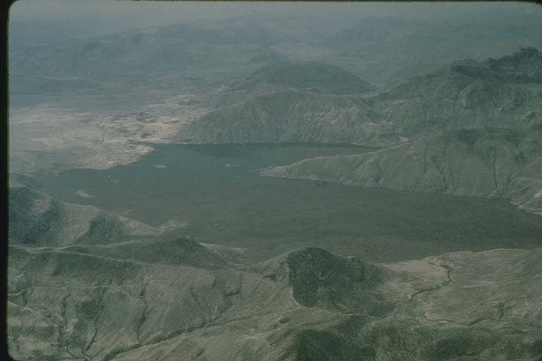Spirit Lake after 5/18/1980 Eruption at Mt St Helens