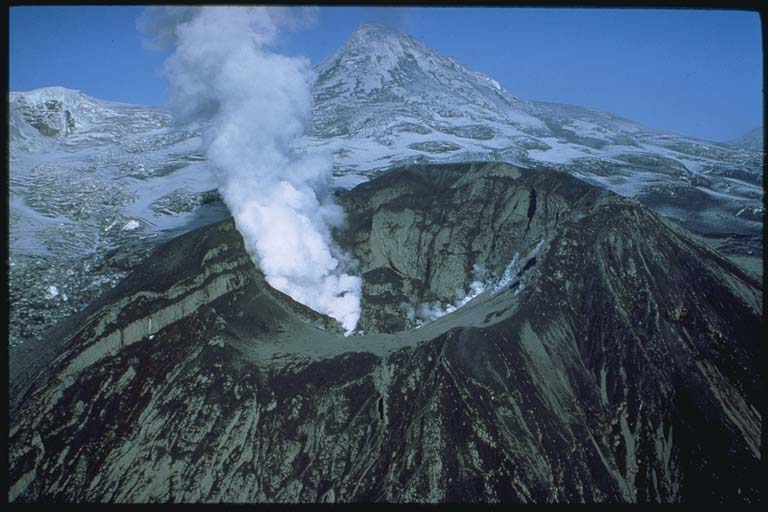 The Crater Peak vent after the September eruption