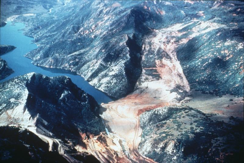 Landslide, Thistle, Utah