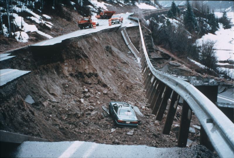 Landslide, McClure Pass, Colorado