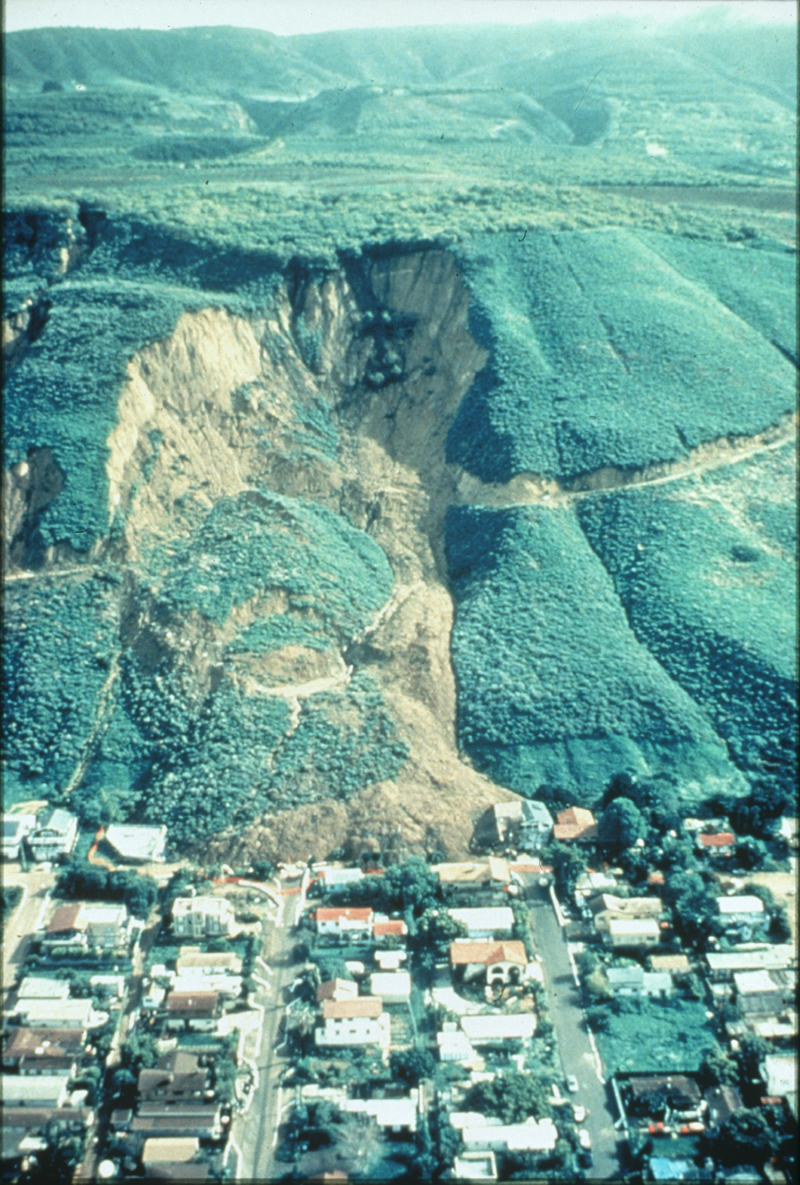 Landslide and Debris Flow, La Conchita, California