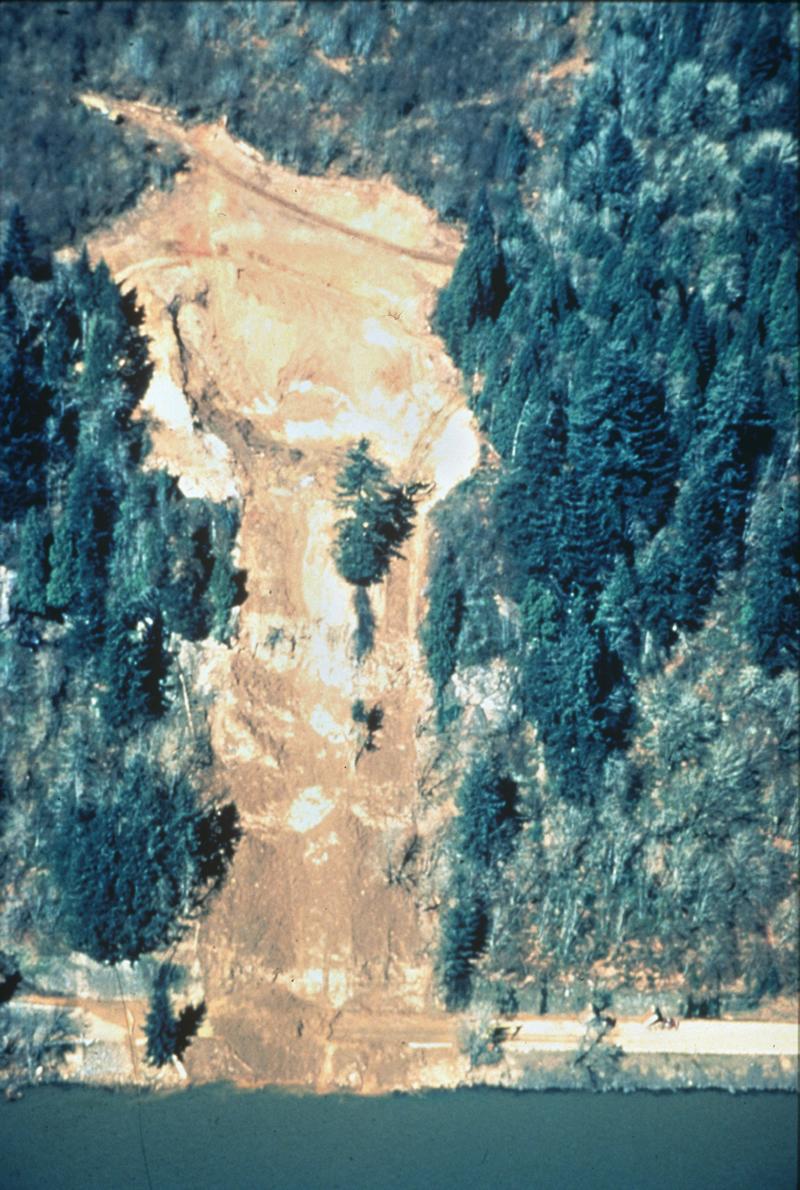 Landslide and Debris Flows, Stella, Washington