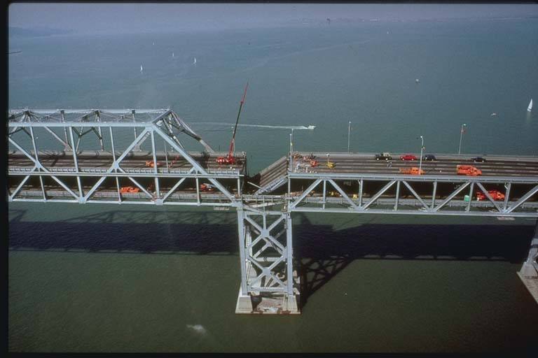 Damage to San Francisco-Oakland Bay Bridge