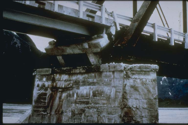 Damage to Railroad Bridge