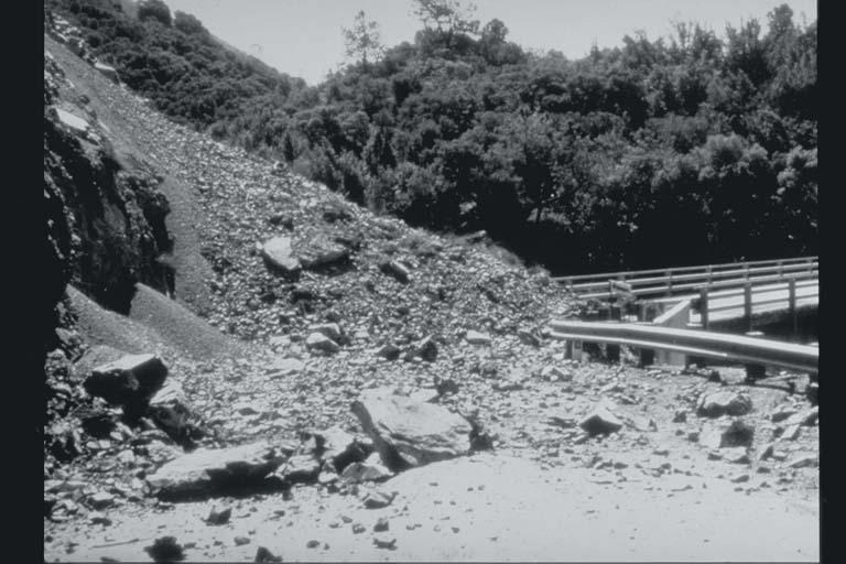 Landslide Blocks Highway
