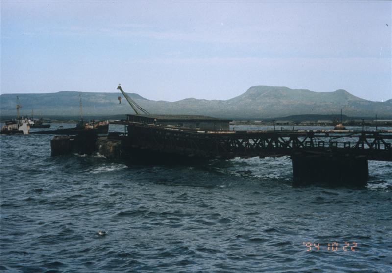 Dock - Kunashir Island