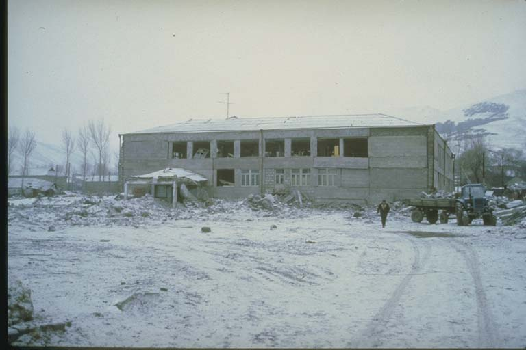 Interior Collapse at School in Spitak, Armenia, 1988