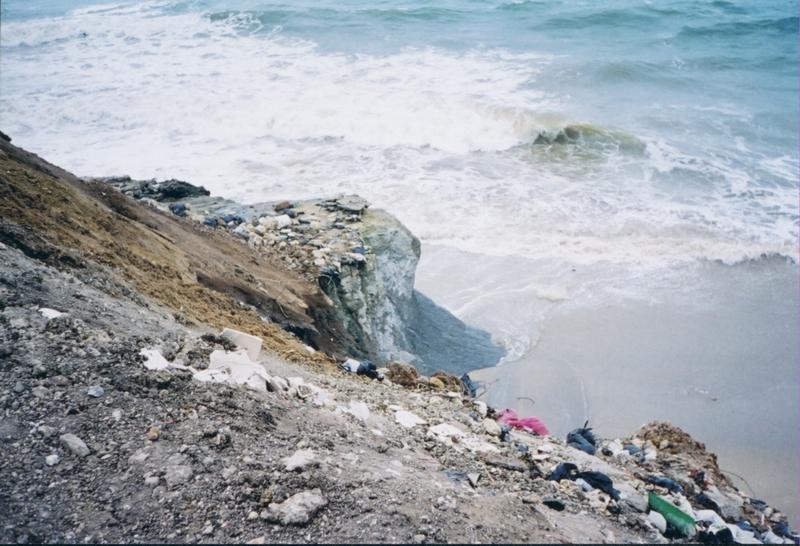 Slumping near Algiers, Algeria