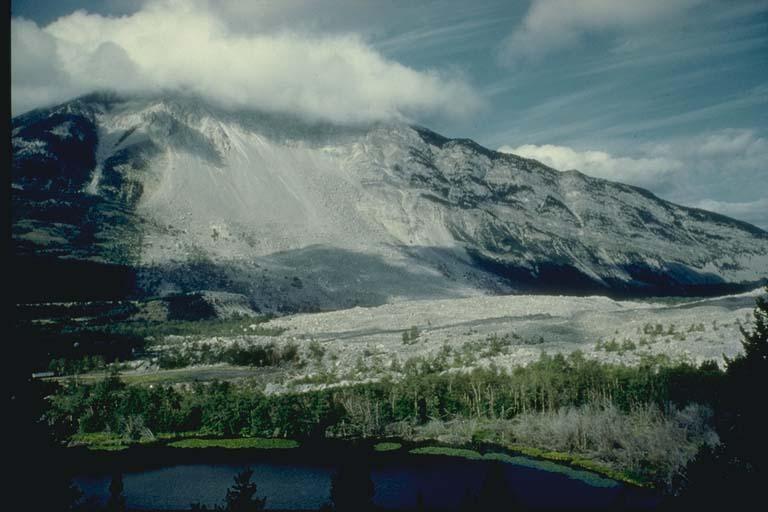 Rock Slide, Frank, Alberta, Canada
