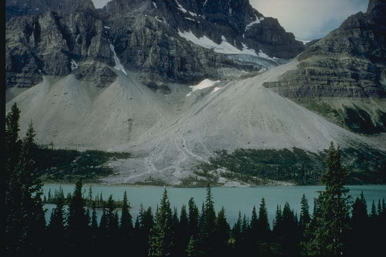 Talus Cones in the Canadian Rockies